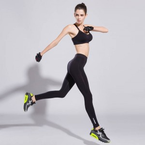 Women Fitness Workout Pants Ankle Length Quick Drying Push Up Pants Elastic Design Thumbnail