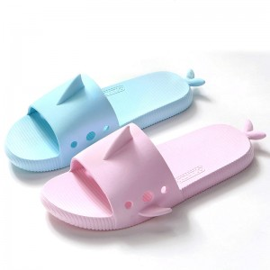 Women Slippers Cartoon Fish Shark Whale Summer Home Slippers Platform Sandals Women Shoes Couple Lovers Slippers