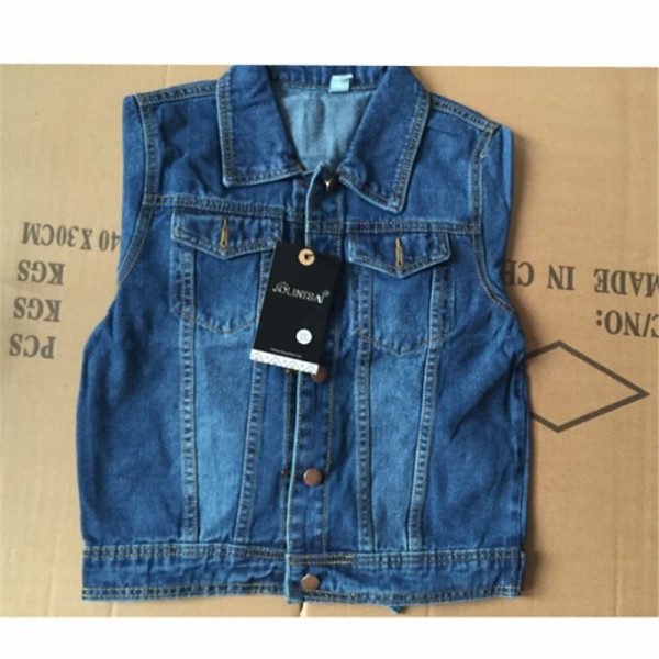 2016 New Spring Women Jean Jackets Korean Short Casual Denim Jacket Women Coat Long Sleeve Outerwear abrigos mujer Extra Image 5