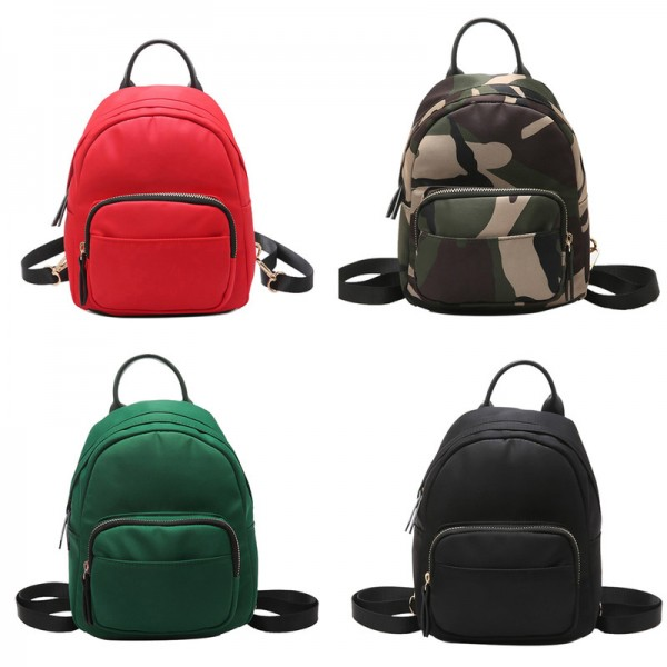 2018 Camo Backpacks Waterproof Nylon Ladies Backpacks Female Casual Travel Bags Camouflage Rucksacks Backpacks Extra Image 2