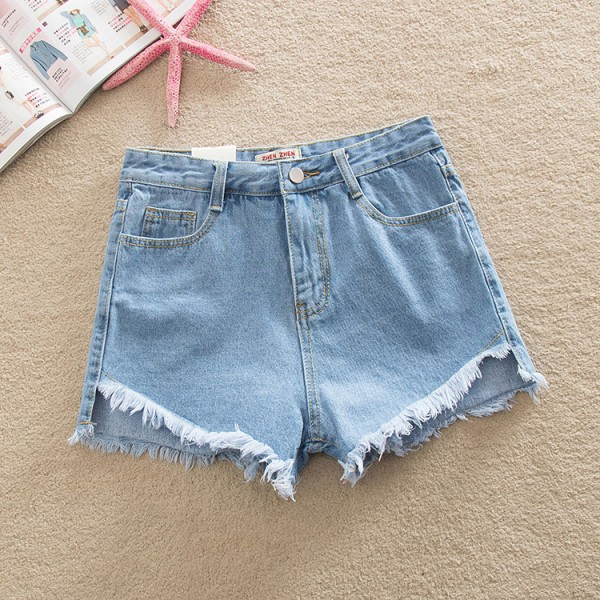 New Summer High Waist Shorts For Women Jeans Casual Girl Edge Lady Denim SHorts For Women New Arrivals