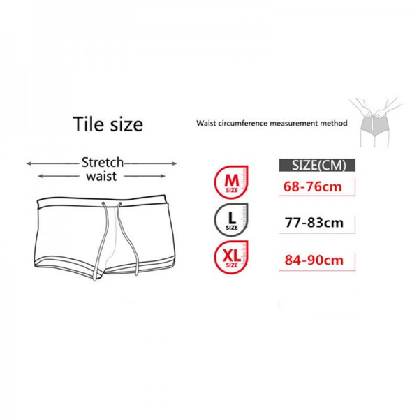 2018 Summer New Style Men Beach Shorts Men High Quality Cotton Breathable  Boxer Shorts Trunks With Side Pouch For Male Extra Image 5