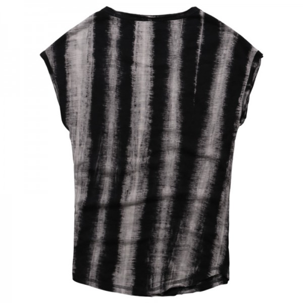 2018 Summer Style Sleeveless T Shirts Foe Men Retro Tie Dye Wide Shoulder Vest Casual Male Under Shirts Extra Image 5