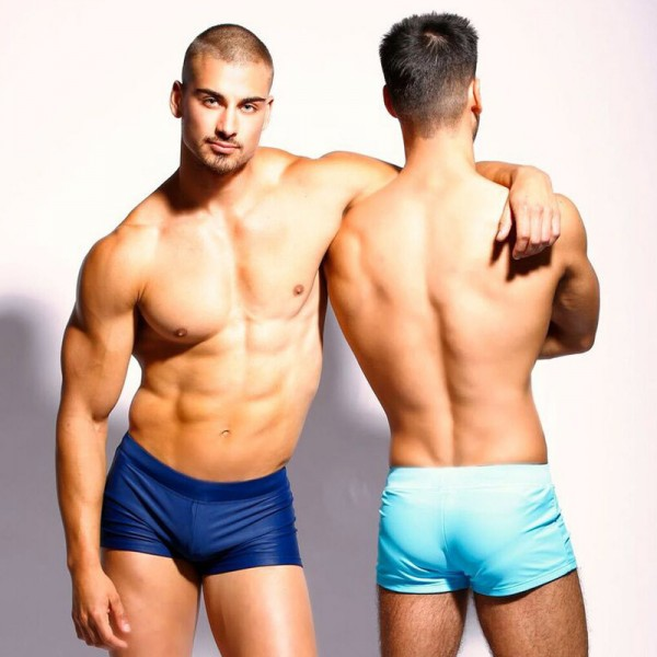 0e8526104d5 Buy 2018 Swimwear Swim Trunks Board Surfing Shorts Low Waist Brazilian Cut Swimsuits  Swimming Boxers Male Trunks