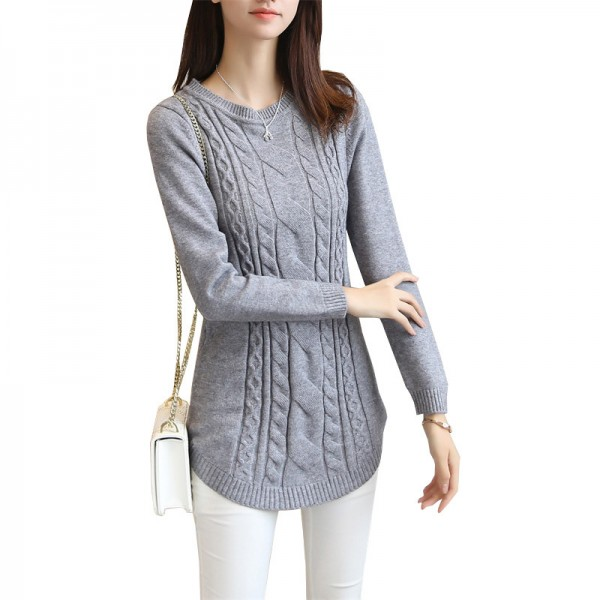 a39ff1729e Buy 2019 Autumn Winter Women Sweater And Pullover Female Long Sleeve  Knitted Jumper Jersey Tops Pull