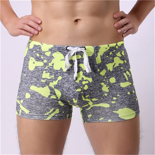 2019 Camouflage Print Swimwear Breathable Swimming Shorts Trunks Pants Shorts Boxers Underwear Swimsuit