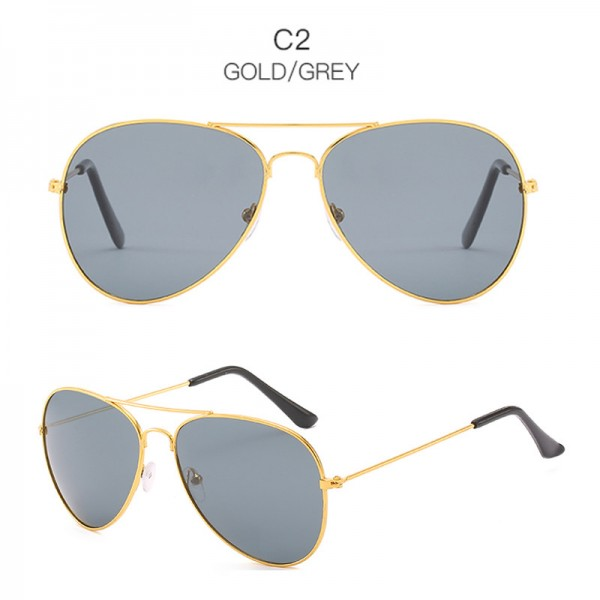 2019 Classic Designer Sunglasses For Men UV400 Polarized Retro Vintage Pilot Aviator Sunglasses For Males Extra Image 3