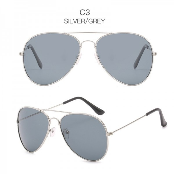 2019 Classic Designer Sunglasses For Men UV400 Polarized Retro Vintage Pilot Aviator Sunglasses For Males Extra Image 4