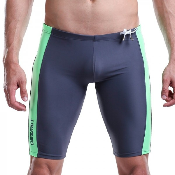 2019 Mens Swimming Trunks For Men Boxer Tight Sexy long Swim Shorts Summer Beach Wear Surf Swimsuit