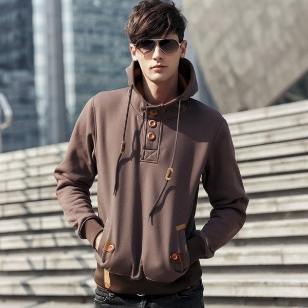 2019 New Fashion hoodies men hoody High quality sweatshirts fashion stylish hoodies men cotton casual hoodie Extra Image 4