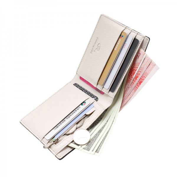 2019 New Men Wallets Fresh Fashion Designer Money Purse Men Brand striped Card Purse Male Wallet Extra Image 3