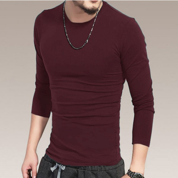 All new O Neck slim men long sleeve t shirt  base shirt saints thermal undershirt mens autumn spring Top Tees Extra Image 4