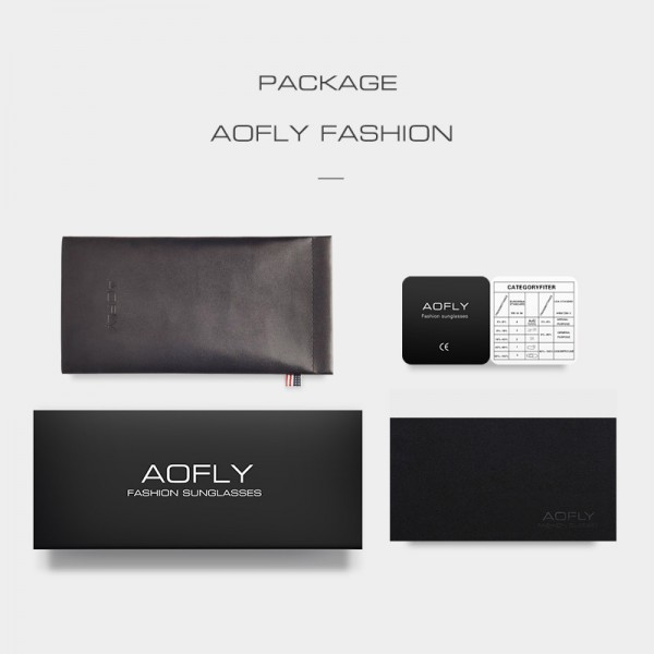 AOFLY Eyeglasses Vintage Men Women Brand Designer Prescription Nerd Lens Medical Optical Glasses Alloy Frame Extra Image 6