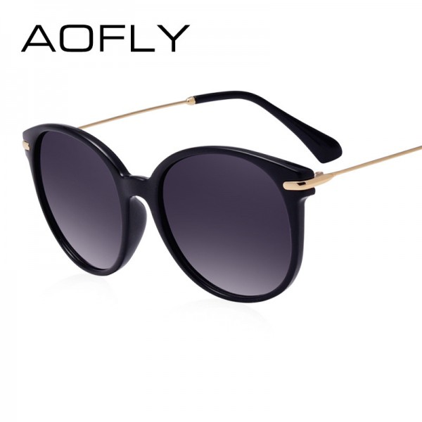 AOFLY Fashion Lady Sun glasses New Polarized Women Sunglasses Vintage Alloy Frame Classic Brand Designer Shades Extra Image 3