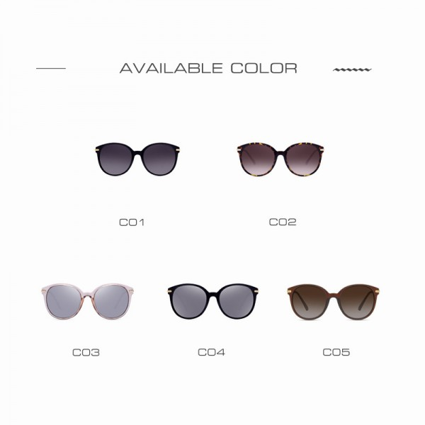 AOFLY Fashion Lady Sun glasses New Polarized Women Sunglasses Vintage Alloy Frame Classic Brand Designer Shades Extra Image 5