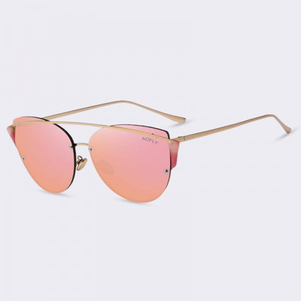 Aofly Original Brand Sunglasses Cateye Luxury Designer Latest For Women Thumbnail