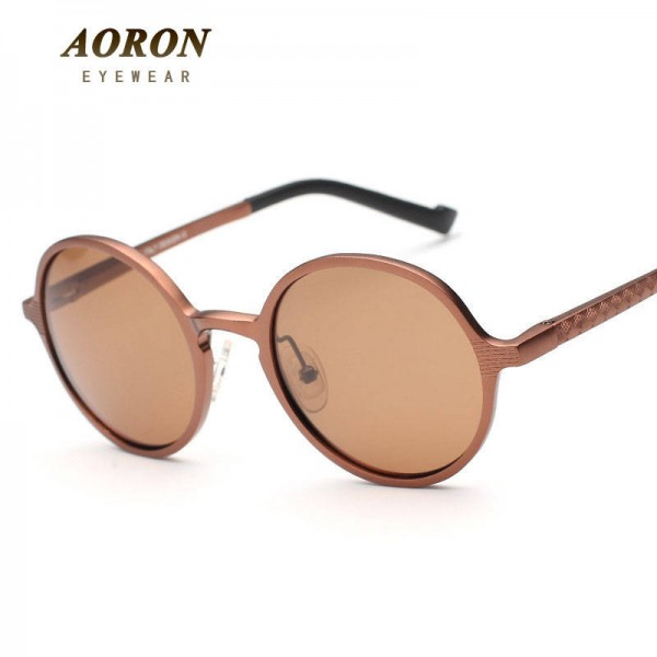 Teashades Sunglasses Aoron Unisex Polarized Round Fashionable Teashades Driving Men Sunglasses Extra Images 1