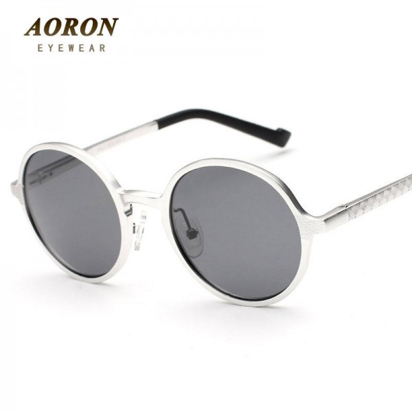 Teashades Sunglasses Aoron Unisex Polarized Round Fashionable Teashades Driving Men Sunglasses Extra Images 2