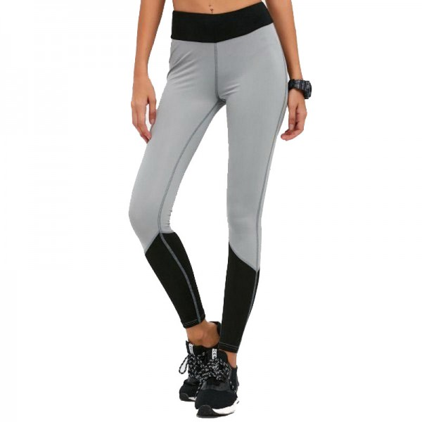 Autumn Spring High Waist Elastic Womens Leggings Solid Fitness Women Leggins Hot Pants Workout Trousers For Women Extra Image 1