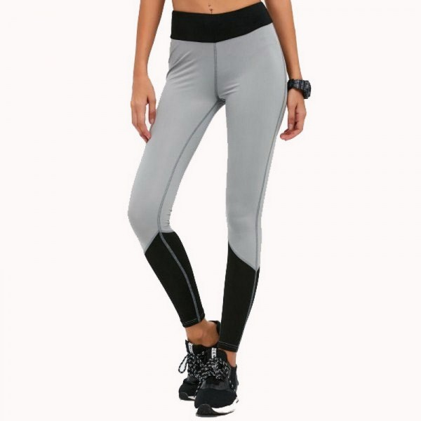 Autumn Spring High Waist Elastic Womens Leggings Solid Fitness Women Leggins Hot Pants Workout Trousers For Women Extra Image 2