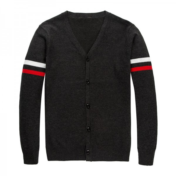 Autumn Winter Brand Clothing Sweater Men Fashion Striped Slim Fit Cardigan Men High Quality Knitted Sweater Men Extra Image 6