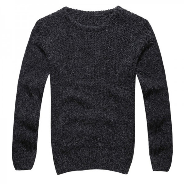 Buy Autumn winter sweaters men pullovers brands slim Pullover Men ...