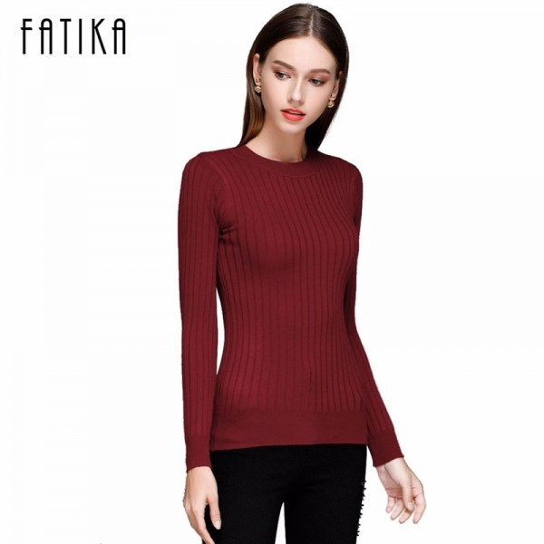Autumn Winter Women Sweaters And Pullovers Female Solid Wool Pullover Knitted Casual Oversized Pull Femme Sweater Extra Image 1