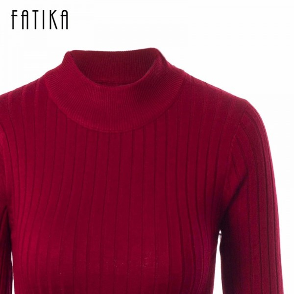 Autumn Winter Women Sweaters And Pullovers Female Solid Wool Pullover Knitted Casual Oversized Pull Femme Sweater Extra Image 6