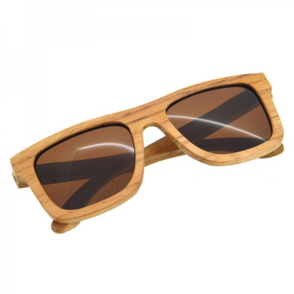 Bamboo Sunglasses Luxury Wooden Vintage Classic New Fashion Comfortable Polarized Eyewear With Oval Design Extra Image 1