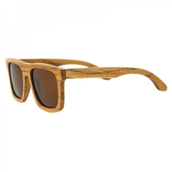 Bamboo Sunglasses Luxury Wooden Vintage Classic New Fashion Comfortable Polarized Eyewear With Oval Design Extra Image 3