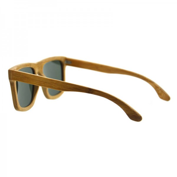 Bamboo Sunglasses Luxury Wooden Vintage Classic New Fashion Comfortable Polarized Eyewear With Oval Design Extra Image 4