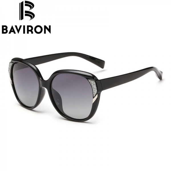BAVIRON Brand HD Polarized Sunglasses Women Luxury New Fashion Sun Glasses Polaroid Lens Women Glasses Designer Extra Image 2