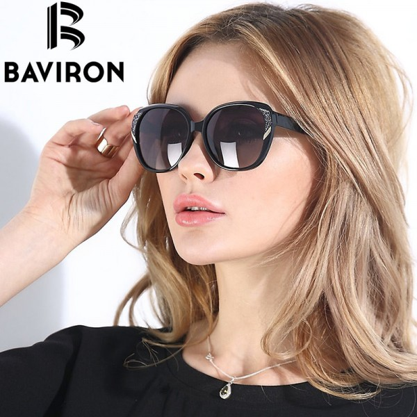 BAVIRON Brand HD Polarized Sunglasses Women Luxury New Fashion Sun Glasses Polaroid Lens Women Glasses Designer Extra Image 5