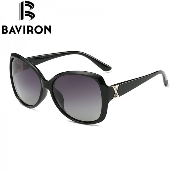 BAVIRON City Eye Tortoise Sunglasses Women Polarized Lenses Glasses Retro Sunglasses Style Gradient Colors Rays UV400 Extra Image 4