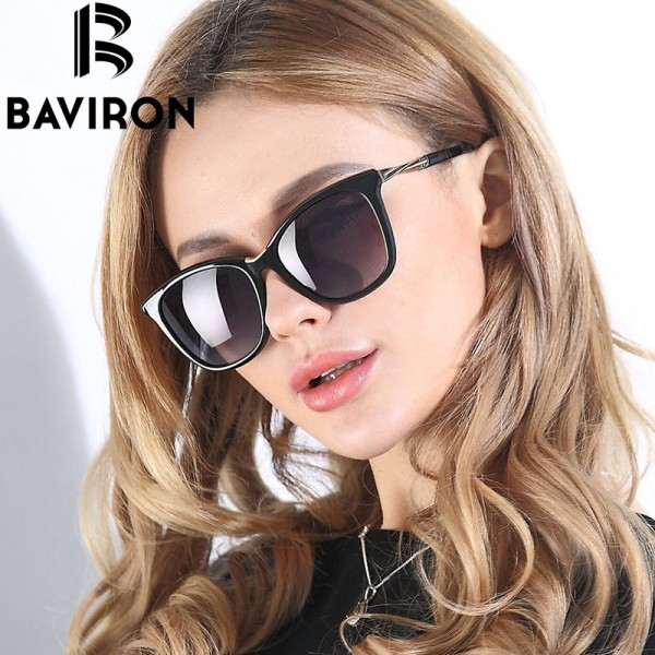 BAVIRON Shield Glasses Women Luxury Design HD Polarized Sunglasses New Trend Polaroid Women Sunglasses Eyewear Extra Image 3