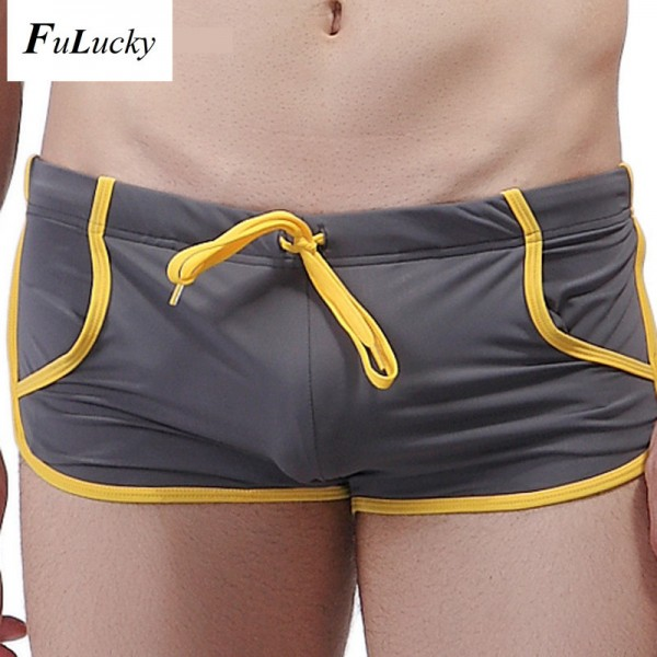 Beachwear Sea Swimming Trunks Board Surf Shorts Hot Sexy Summer Shorts Swimming Briefs For Males Extra Image 2