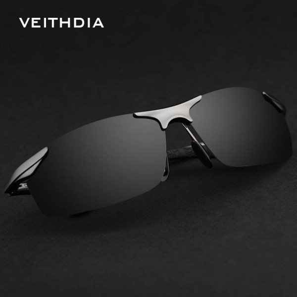 Best Fishing Sunglasses For Men And Women Sports Biking Goggles Aluminium Polarized Veithdia Eyewear Extra Image 1