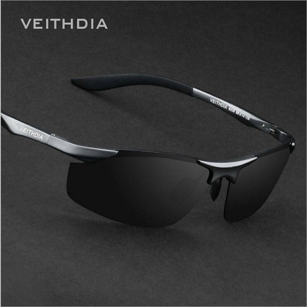 Best Fishing Sunglasses For Men And Women Sports Biking Goggles Aluminium Polarized Veithdia Eyewear Extra Image 2