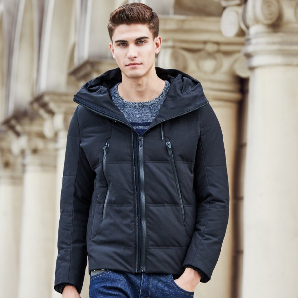 Big autumn winter thick duck down jacket men brand clothing male down coat fashion casual warm jacket parkas for men Extra Image 2