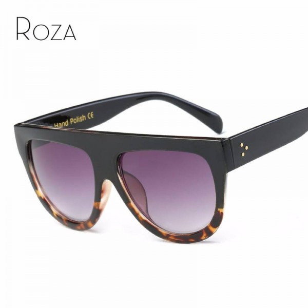 Big Frame Teens Sunglasses For College School Girls Rivet Decoration On Temple Summer Style Shades For Women Extra Image 0