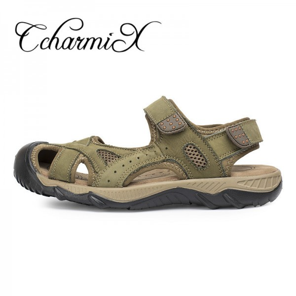 fa4e95b35b50b8 ... Big Size Luxury Brand Men Sandals Summer News Fretwork Fisherman Shoes  Retro Gladiator Men Casual Beach ...