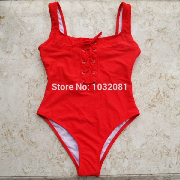 178676b40d Black White Red Lace Up Corset Swimsuit Bathing Suit Beach Suit Swimming  Suit For Women New Arrival
