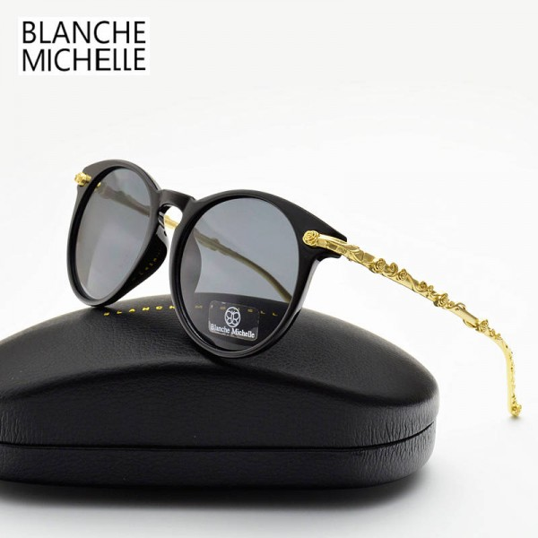 Blanche Michelle Sunglasses Luxury Anti UV Sunglasses High Quality Trendy Photochromic Shades For Women Extra Image 4