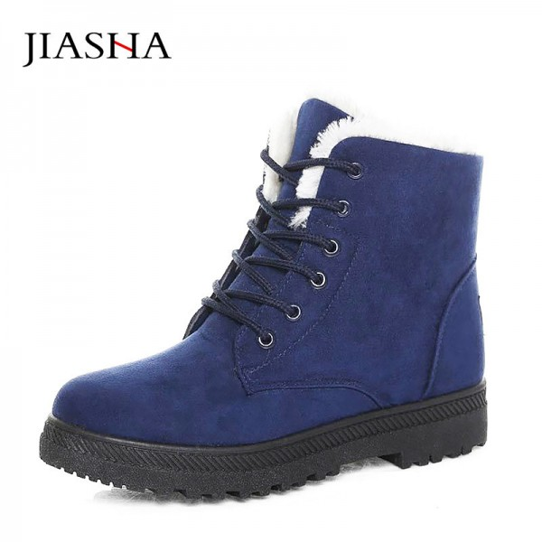 Botas femininas women boots new arrival women winter boots warm snow boots fashion platform shoes women ankle boots Extra Image 4