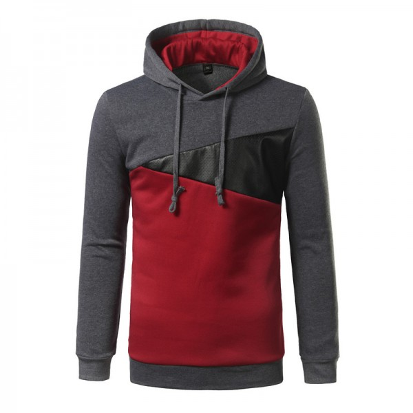 Brand Hoodie Fall New Spell Color Hoodies Men Fashion Tracksuit Male Sweatshirt Off White Hoody Mens Purpose Tour XXL Extra Image 2
