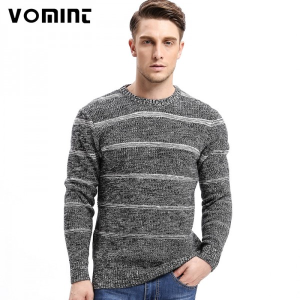 Brand New Autumn Winter Men Sweaters Fashion Style Patchwork Knitted Quality Pullover Men O neck Casual Sweater
