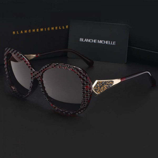 Butterfly Polarized Sunglasses Gradient Lens Driving Sunglasses New Fashion Trendy UV400 Eyewear For Women Extra Image 2