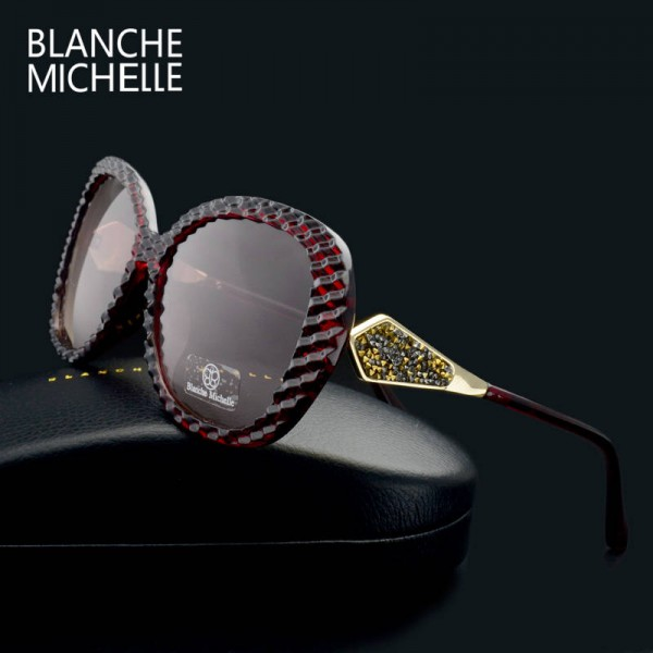 Butterfly Polarized Sunglasses Gradient Lens Driving Sunglasses New Fashion Trendy UV400 Eyewear For Women Extra Image 3