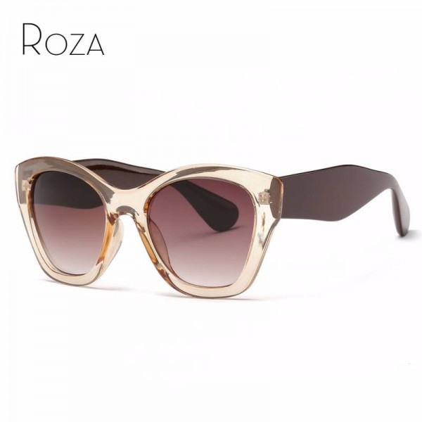 ae9c85203d Butterfly Sunglasses High Quality Vintage Eyewear Latest Designer Sun Shades  For Female UV400 Lens ...