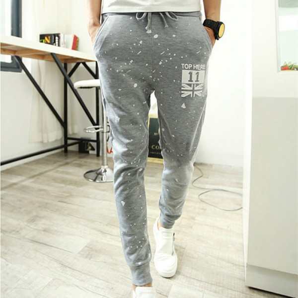 Casual Pants Hot Sale Printing Hip Hop Harem Brand Clothing Sweatpants Trousers Slim Fit Army Pantalon Men Joggers